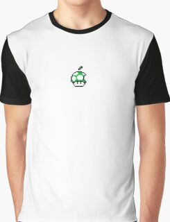 1up Apple Logo Graphic T-Shirt