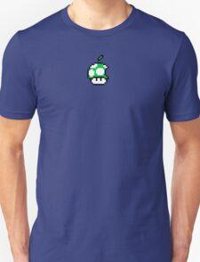 1up Apple Logo Unisex T-Shirt