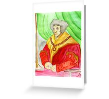 A Man for All Seasons…St. Thomas Moore Greeting Card