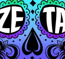 Zeta Sugar Skull Sticker