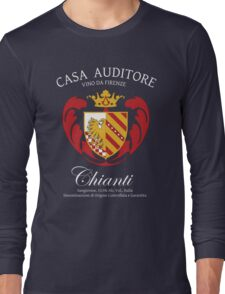 Vino Auditore  Long Sleeve T-Shirt