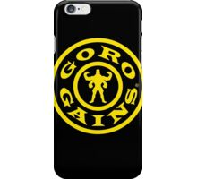 Mortal Kombat Decay's #GOROGAINS iPhone Case/Skin