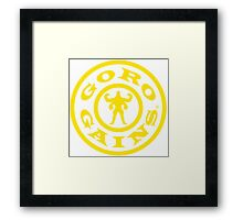 Mortal Kombat Decay's #GOROGAINS Framed Print