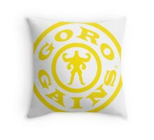 Mortal Kombat Decay's #GOROGAINS Throw Pillow