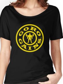 Mortal Kombat Decay's #GOROGAINS Women's Relaxed Fit T-Shirt