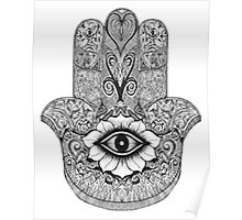MANDALA HAND Poster
