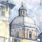 Chiesa a Pegli by Luca Massone  disegni