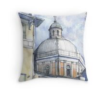 Chiesa a Pegli Throw Pillow