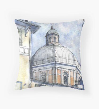 Chiesa a Pegli Throw Pillow