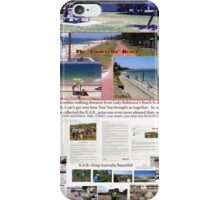 Lady Robinsons Beach - what a pleasant location to relax.  iPhone Case/Skin