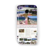 Lady Robinsons Beach - what a pleasant location to relax.  Samsung Galaxy Case/Skin