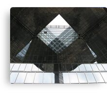 LONDON OFFICE WINDOWS Canvas Print