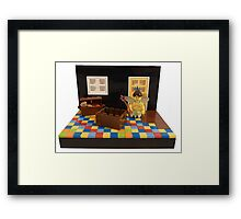 Dress Up Box Dilemma Framed Print