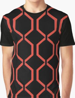 Latticework Graphic T-Shirt