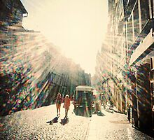 Sunshine Lomo Art Photograph lens flare lomography by Tara Holland
