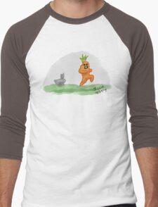 If Vegetables Could Run Men's Baseball ¾ T-Shirt