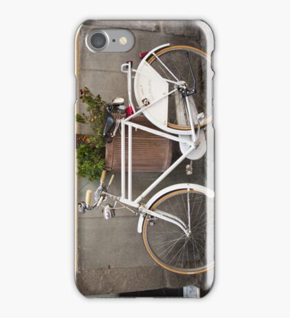 Retro Bicycle in Italy iPhone Case/Skin