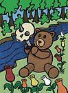 Teddy Bear And Bunny - Apple Of My Eye by Brett Gilbert