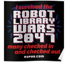 The Robot Library Wars Poster