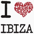 I Love Ibiza by FC Designs