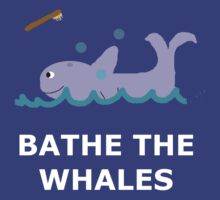 Bathe The Whales! by TheEpicOne
