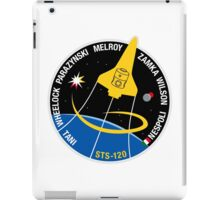 STS-120 Mission Patch iPad Case/Skin