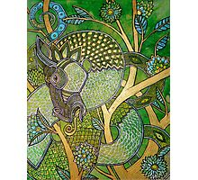 Green Tree Dragon Photographic Print