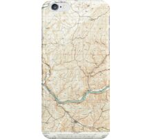 USGS Topo Map Washington State WA Starbuck 244006 1950 62500 iPhone Case/Skin