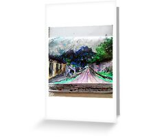 Pueblo in El Salvador Greeting Card