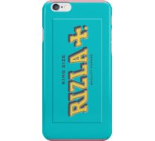 Rizla Blue (King Size) iPhone Case/Skin