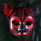 Devil Day of the Dead Mask by Suzi Linden