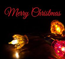 Lights - Christmas Card by Ellesscee