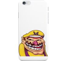 Wario Trollface iPhone Case/Skin