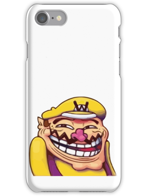 Wario Trollface by KillerBeeCan