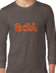 The Answer in Hexadecimal Long Sleeve T-Shirt