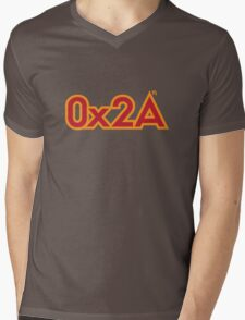 The Answer in Hexadecimal Mens V-Neck T-Shirt
