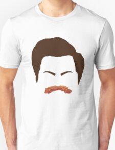 Ron Swanson Bacon Mustache  T-Shirt