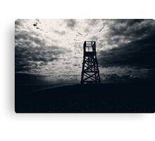 Police Tower Canvas Print