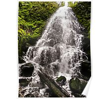 Fairy Falls - Oregon Columbia River Gorge area Poster