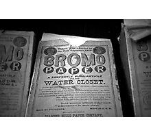Bromo Paper Photographic Print