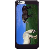 Grazing Horses iPhone Case/Skin