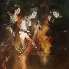 Three Witches by Carol Bleasdale
