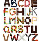 Candy Alphabet by Mike Boon
