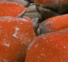 Colours and Shapes, Binalong Bay, Tasmania, Australia. Sticker