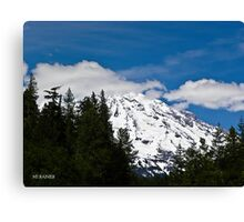 Mt. Rainier - Washington state Canvas Print