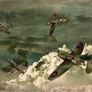 Air Attack by Steven  Agius