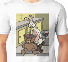 Teddy Bear And Bunny - Slushie Unisex T-Shirt