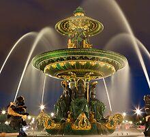 Place de la Concorde in Paris by Julien Tordjman
