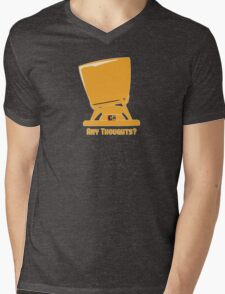 Any thoughts ? Mens V-Neck T-Shirt