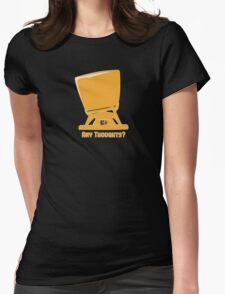 Any thoughts ? Womens Fitted T-Shirt